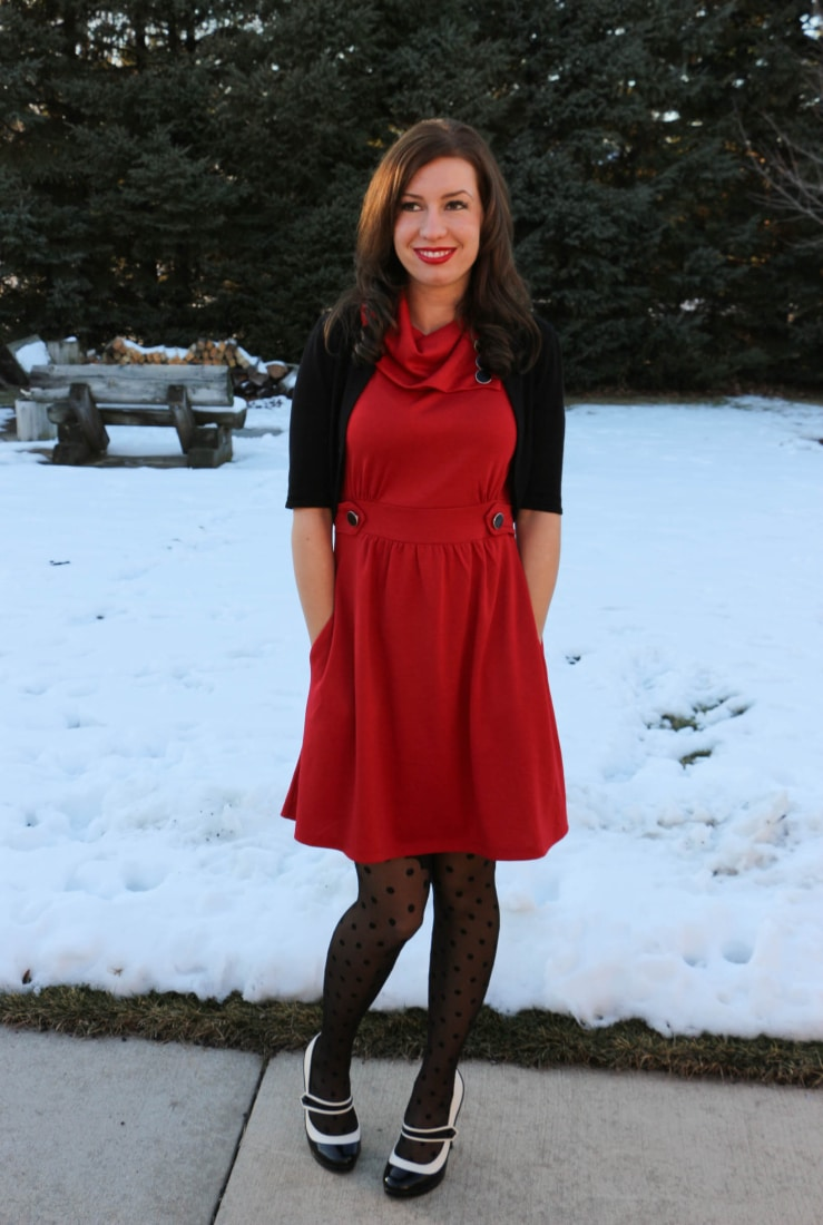 ModCloth Christmas Dress