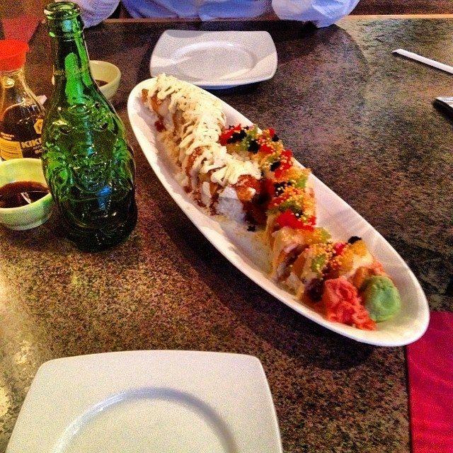 Sushi from Matsu-Ya. Yum.