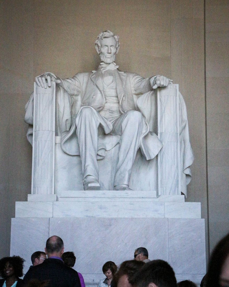 The Lincoln Memorial (Photo credit: Trina)