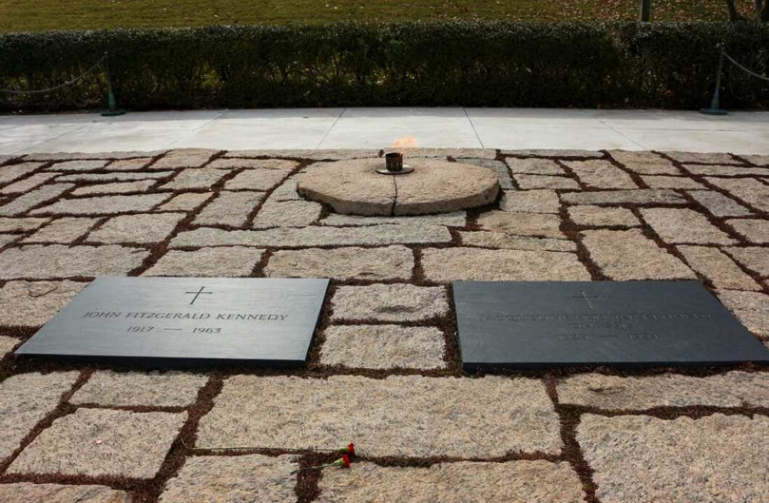 JFK Gravesite (Photo credit: Trina)