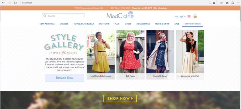 ModCloth ad