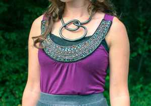 Bendable necklace