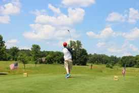 jesse golfing