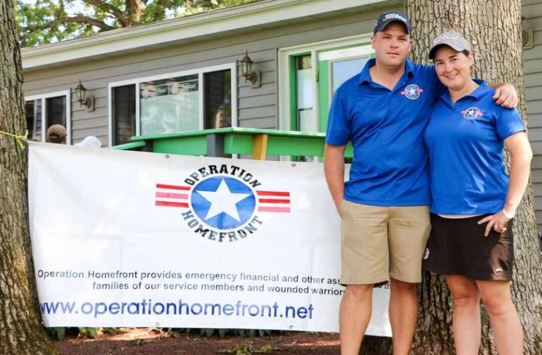 A.J. & Megan Griesbach. creators of Golfing for Veterans