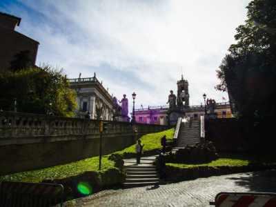 """Near Altare della Patria...better known as """"the Wedding Cake"""""""