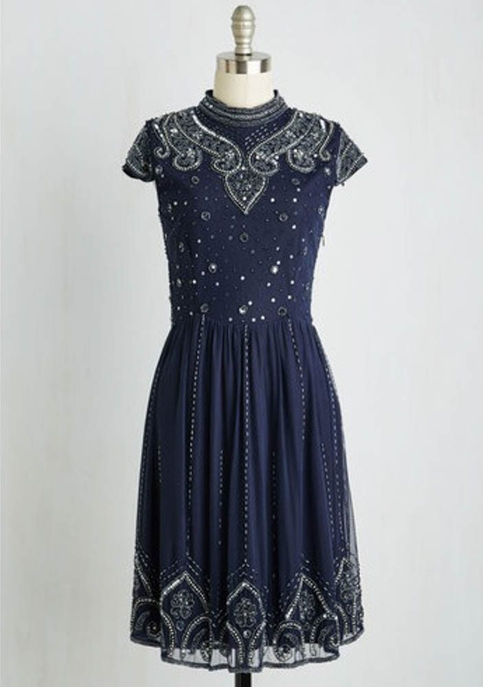 Deco-inspired dress: ModCloth