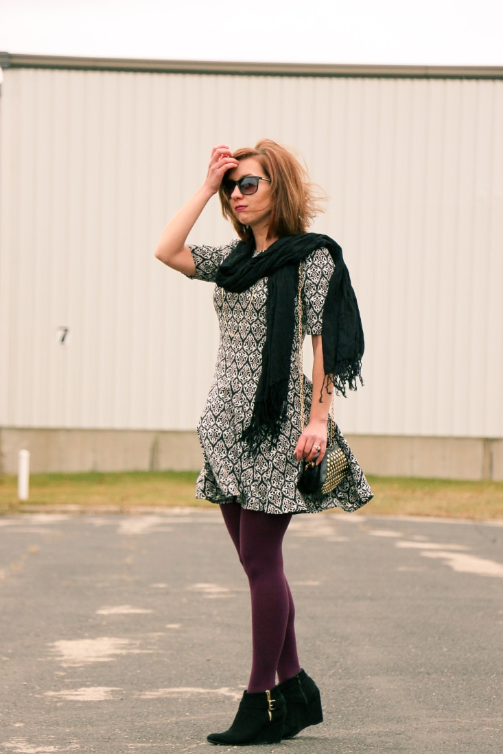 A Windy Day Dress