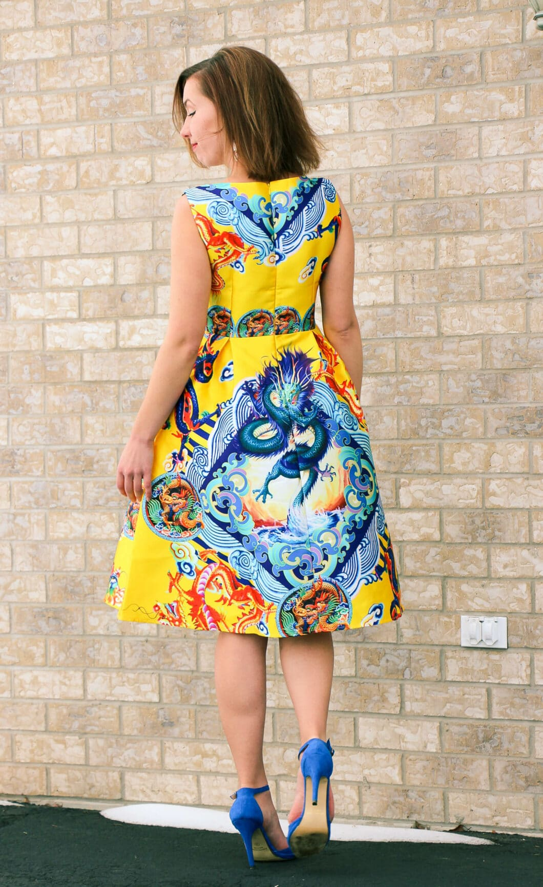 Shein Dragon Dress