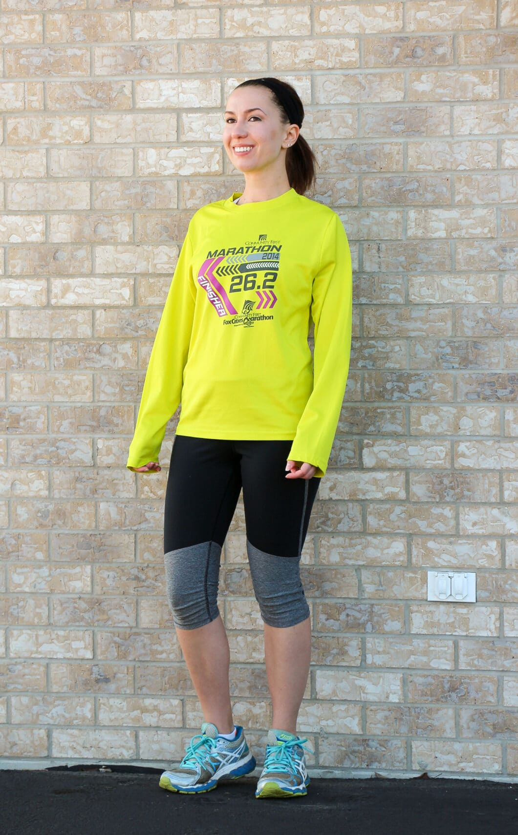 cooler weather running outfit