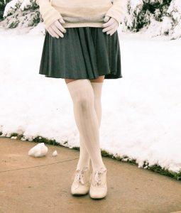 ModCloth skirt & socks