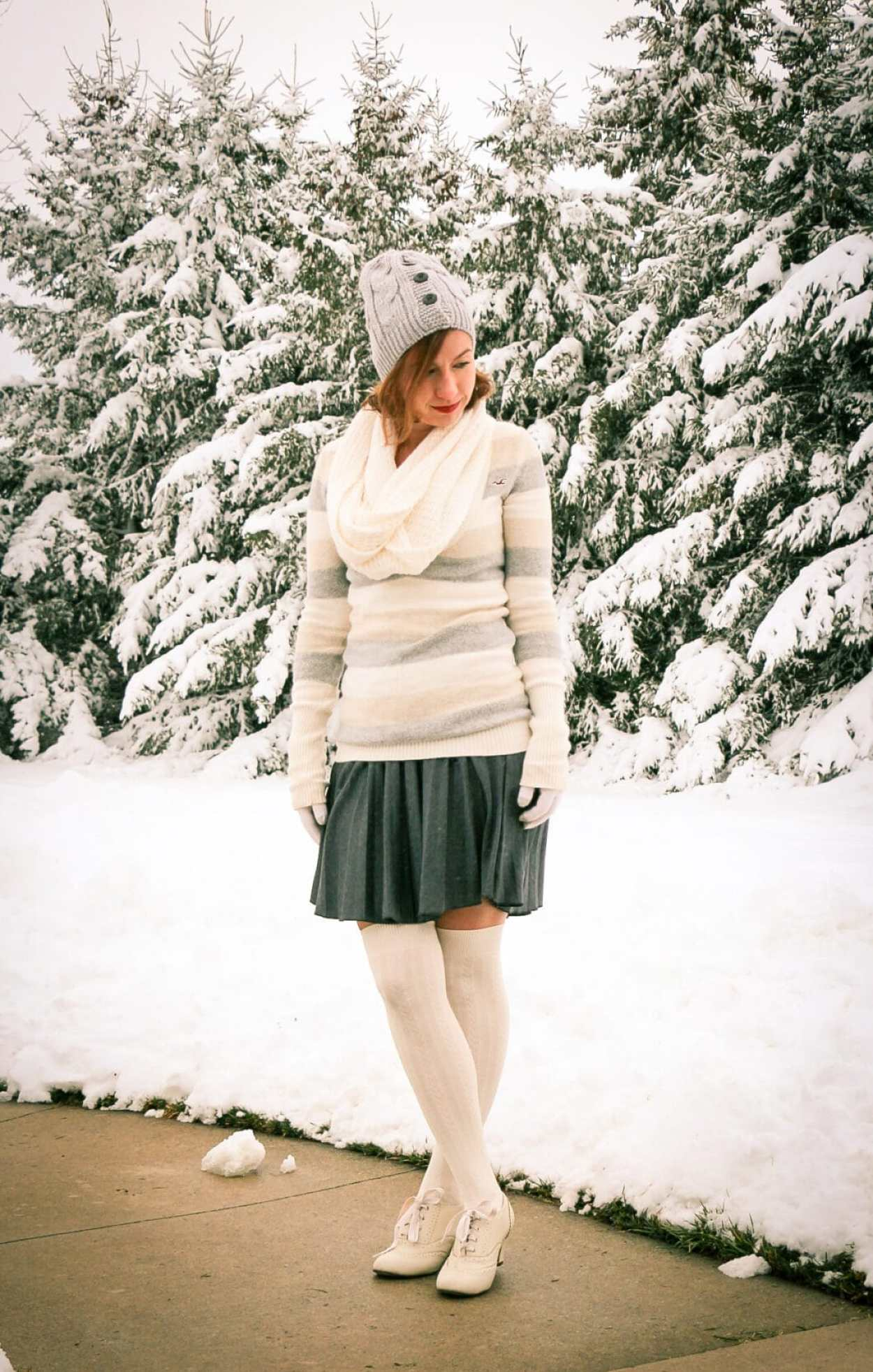 ModCloth skirt & shoes