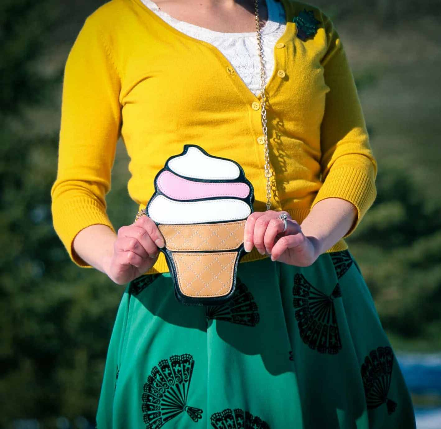Icecream cone purse