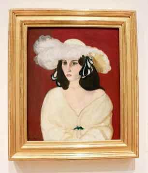"Henri Matisse, ""White Plume."""