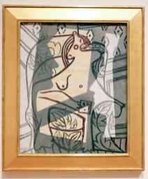 "Pablo Picasso, ""Woman in an Armchair."""