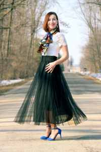 New Chic Tulle Skirt