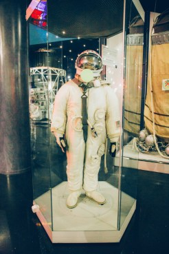 The first space suit used to exit a spacecraft into outer space!