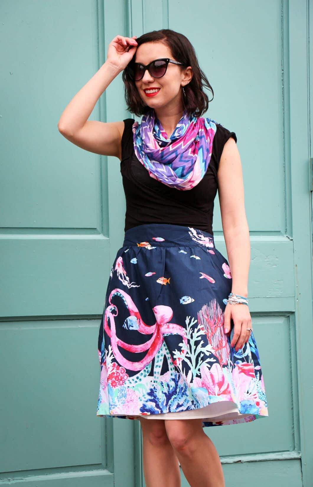 ModCloth octopus skirt