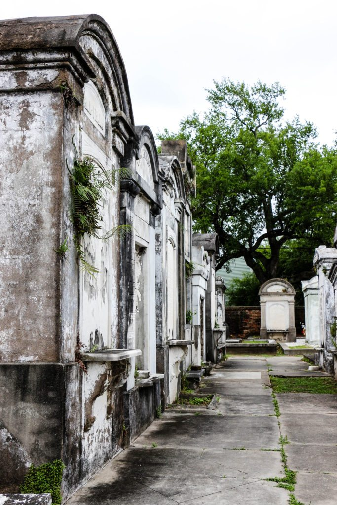 Lafayette Cemetery in New Orleans - a very popular place to visit