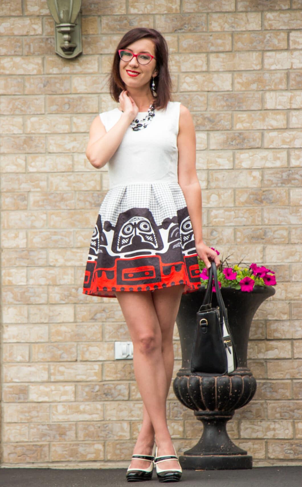 Shein Skater dress