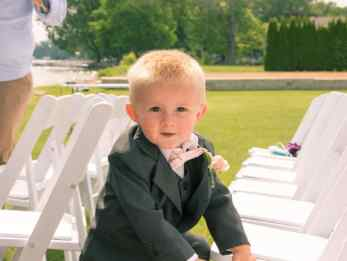 Colin is just too photogenic! He's my other cousin's little guy. :)