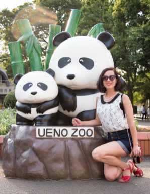 ueno zoo panda entrance