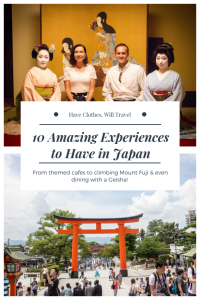 10 Favorite Things to do in Japan