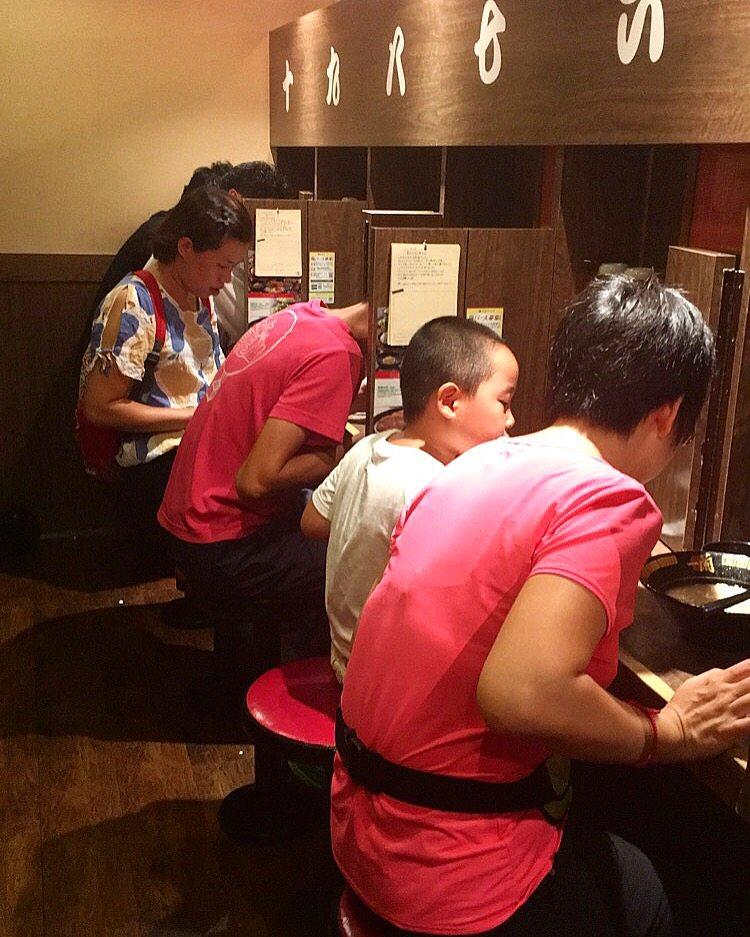 Ichiran Ramen Individual Dining Booths