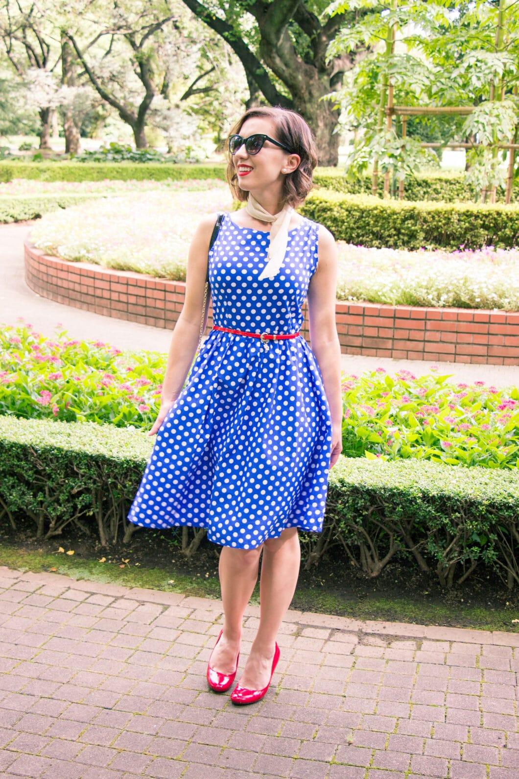Shein Polka dot dress
