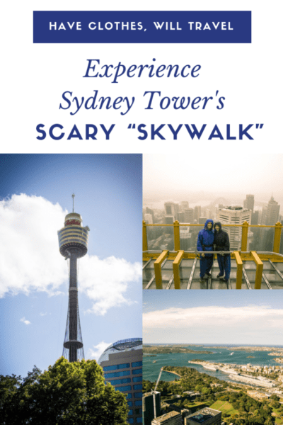 "Sydney Tower's Scary ""Skywalk"" + Amazing Views"