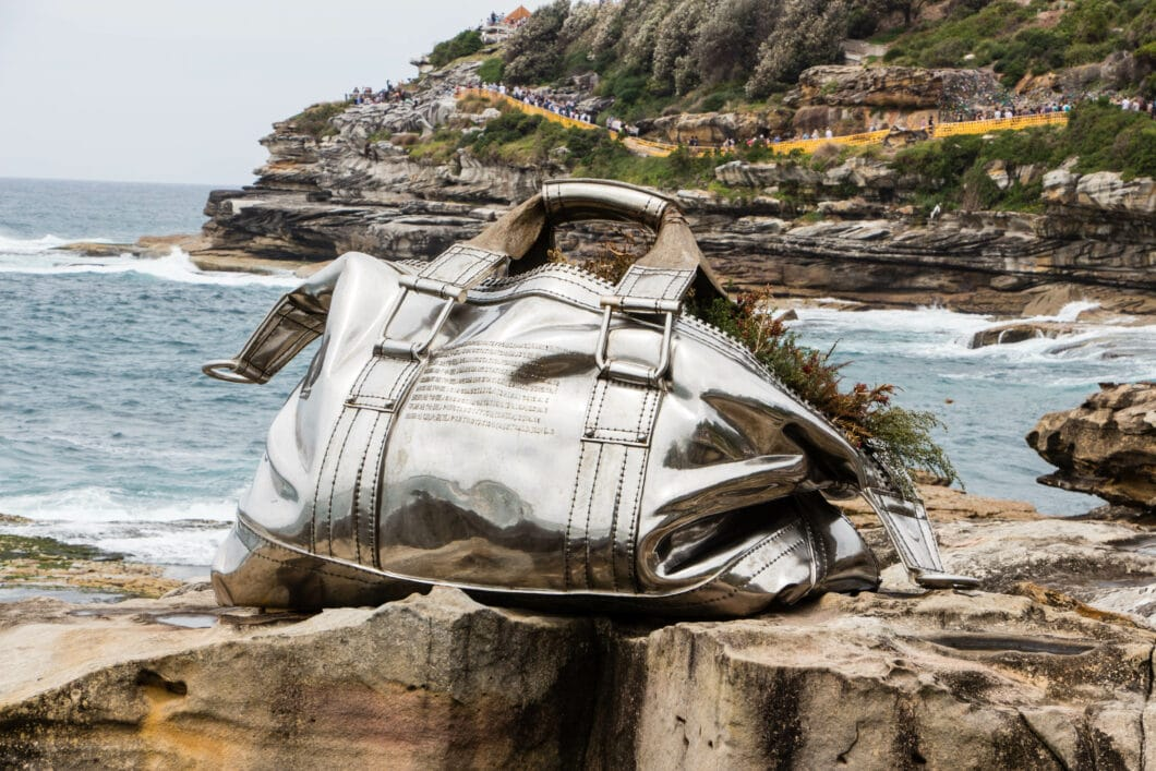 """""""Sculptures by the Sea"""" in Sydney, Australia"""