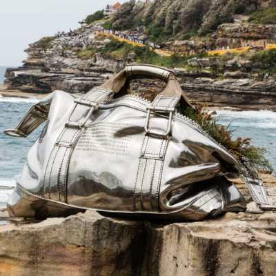 """Sculptures by the Sea"" in Sydney, Australia"