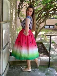 watermelon-skirt