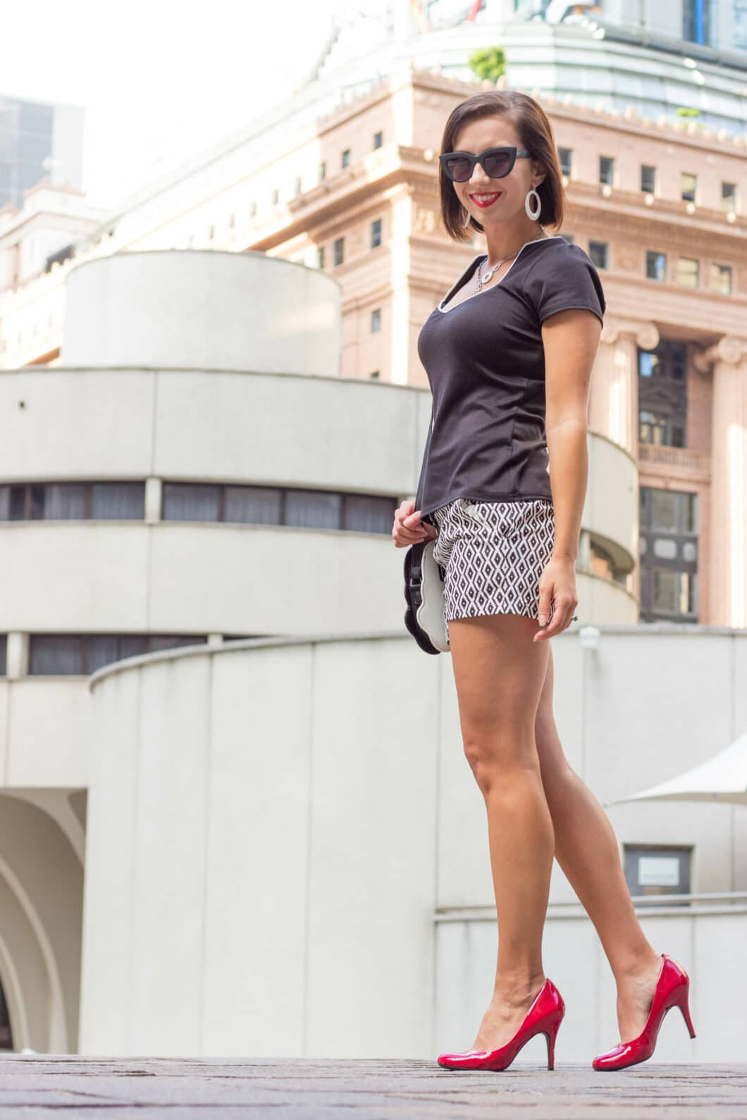 shein shorts How to Style Patterned Shorts for Summer