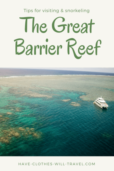 Tips for visiting & snorkeling the great barrier reef
