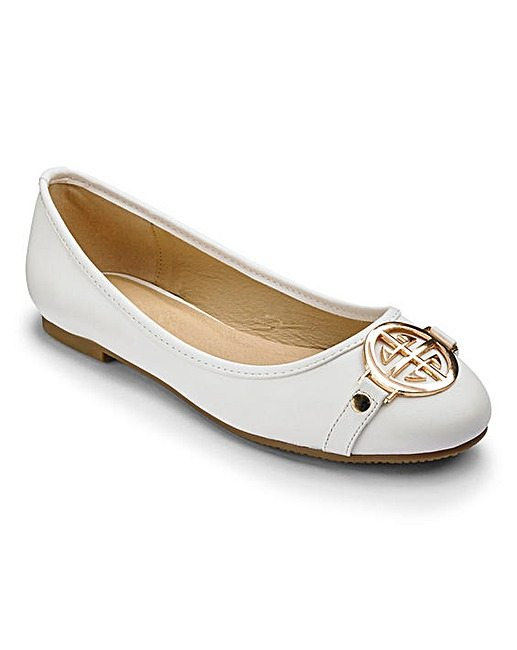 jd williams ballerina flats