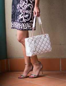 Kate Spade Bag and Nine West heels