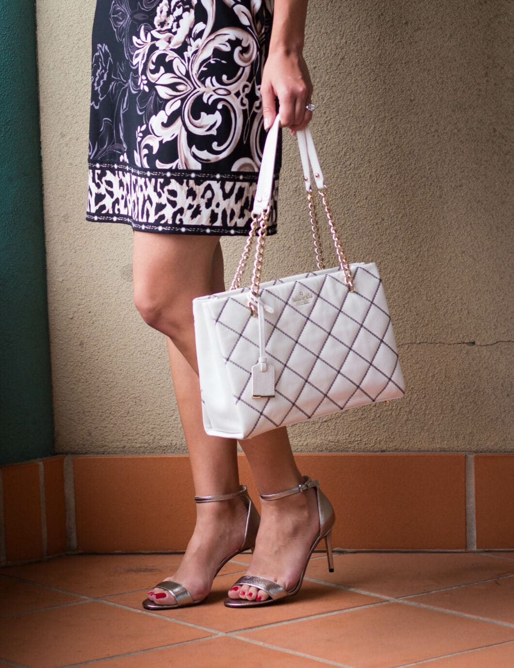 Kate Spade Bag and Nine West heels