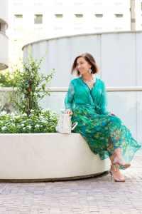 floral stylewe dress