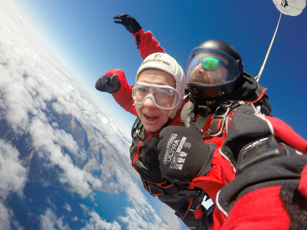 Skydiving at 15,000 Feet in Queenstown, New Zealand!
