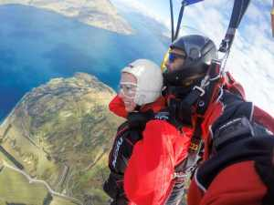 skydiving Queenstown, NZ