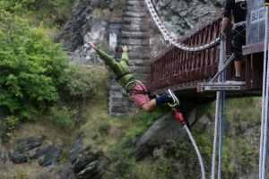 The Original Kawarau Bridge Bungy Jump in Queenstown