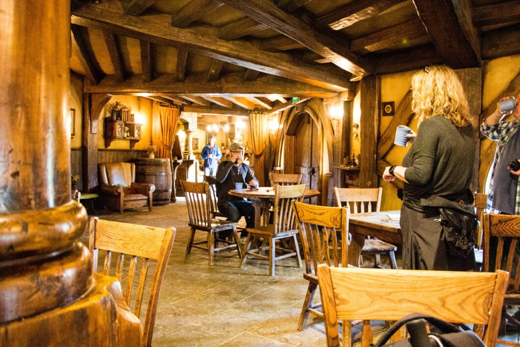 Inside the Green Dragon Inn