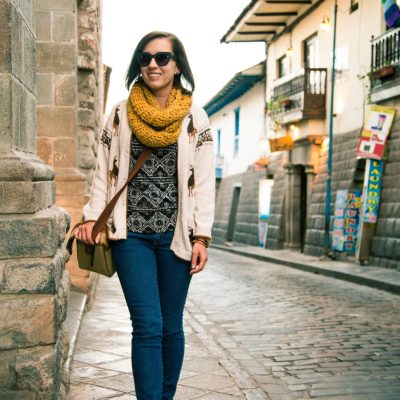 Alpaca Clothing Shopping Tips for Cusco, Peru + What I Wore