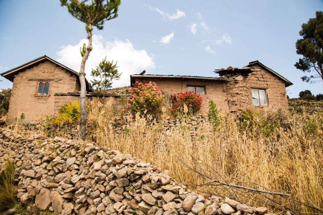 A home on Taquile Island.