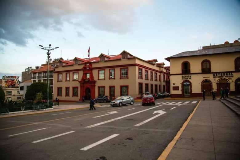 Main square in Puno.