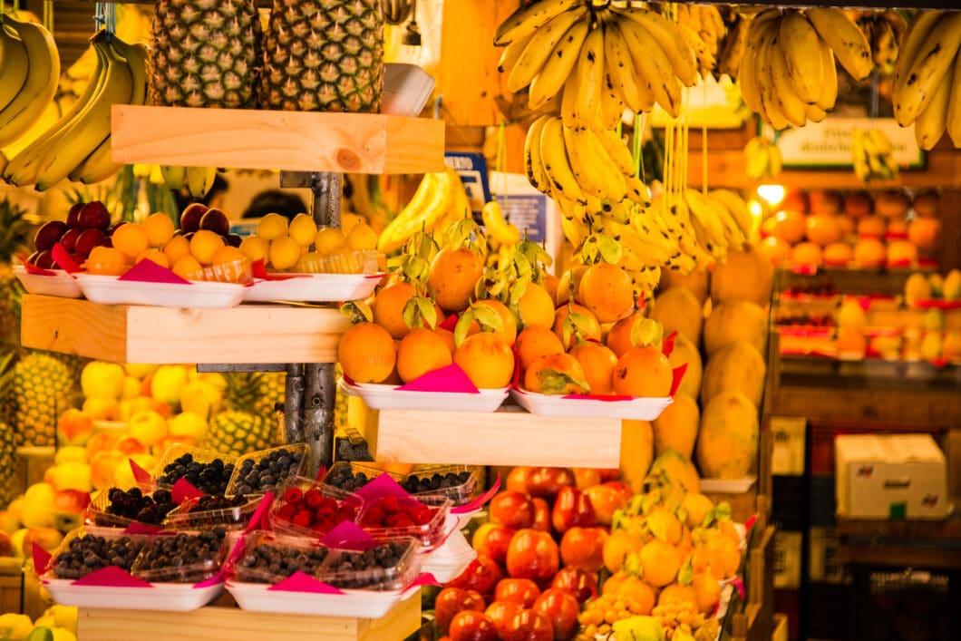 A market in Lima - isn't it beautiful?