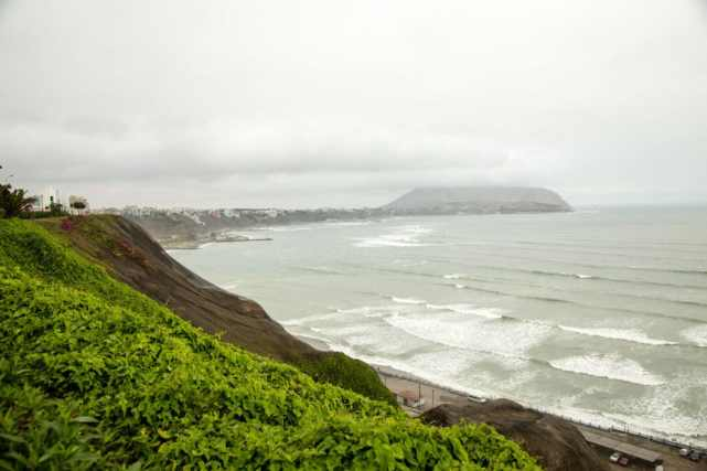 Pacific Ocean in Lima