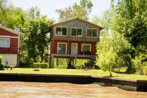 A stilted home in Tigre.