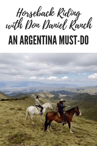 Horseback Riding with Don Daniel Ranch in Argentina