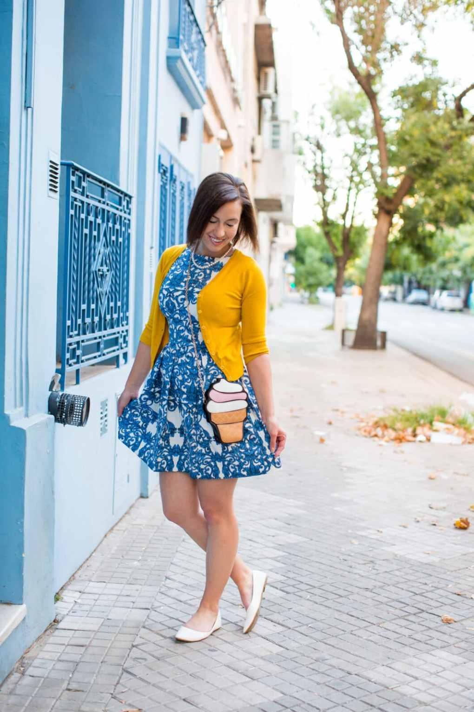 Closet London dress - cardigan